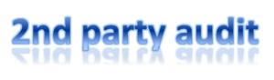 Lieferantenaudit = 2nd party audit