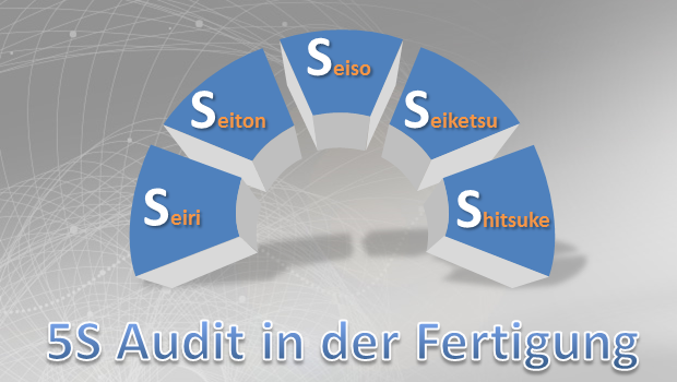 5S Audit in der Fertigung