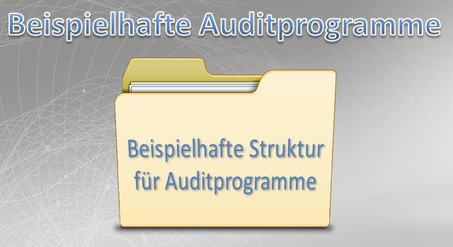 Auditprogramme