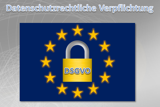 Datenschutzrechtliche Verpflichtung