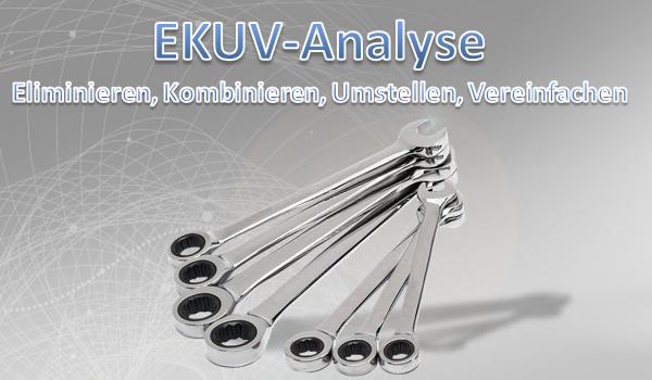 EKUV Analyse zur Rüstzeitoptimierung