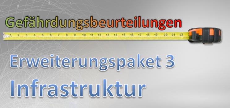 Gefährdungsbeurteilung Erweiterungspaket Infrastruktur