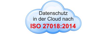 Zertifizierung nach ISO/IEC 27018 für Cloud-Dienste