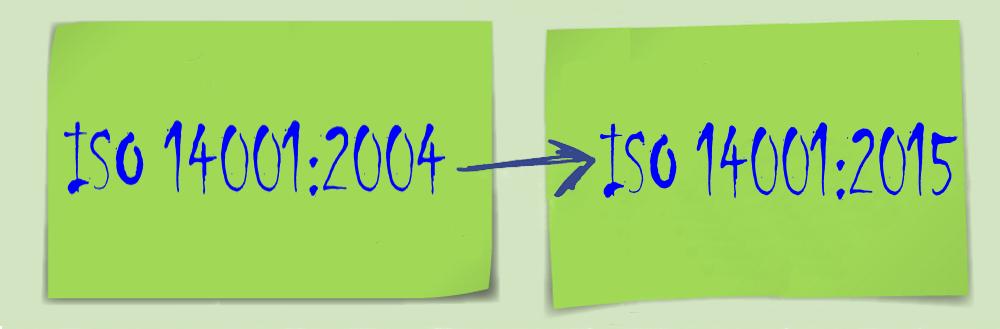 ISO 14001 Revision 2004 auf 2015