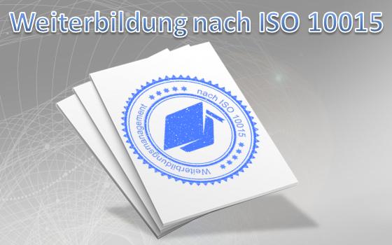 Weiterbildung nach ISO 10015 Verfahrensanweisung