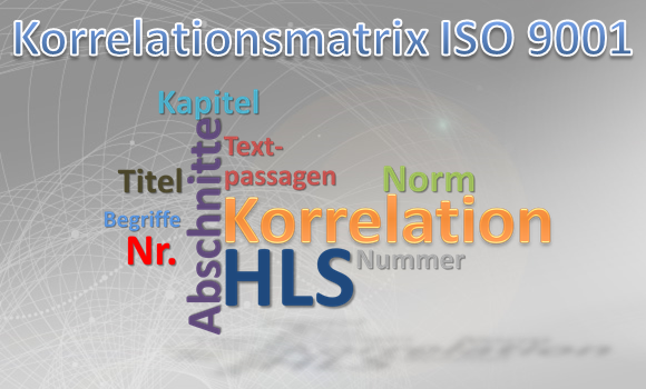 Korrelationsmatrix ISO 9001