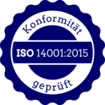 konform zur ISO 14001:2015