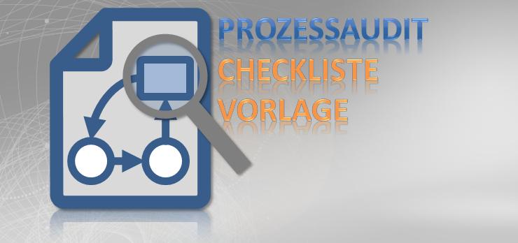Checkliste Prozessaudit allgemein Vorlage