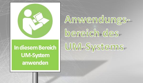 Anwendungsbereich Umweltmanagementsystem