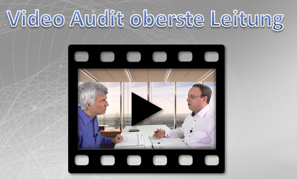 Videotraining Auditrollenspiel oberste Leitung