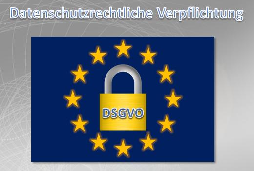 Verpflichtungserklärung Datenschutz