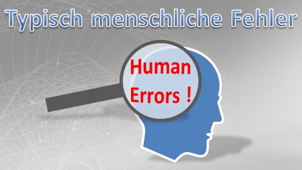 Menschliche Fehler
