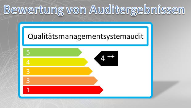 Auditergebnisse bewerten