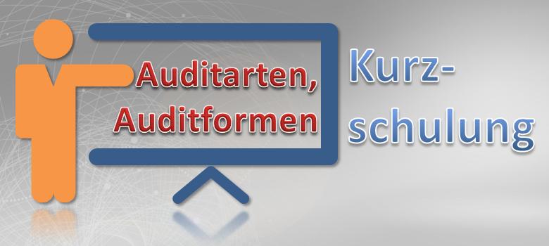 Auditarten und Auditformen Kurzschulung