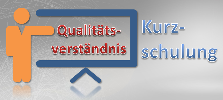 Qualitätsverständnis Kurzschulung
