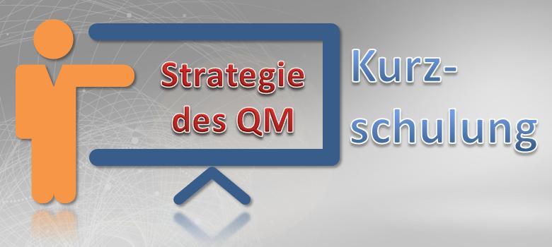 Strategische Ausrichtung des QM Kurzschulung