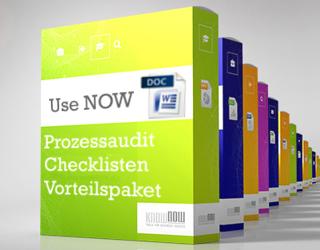 Achtung neue Prozessaudit Checklisten