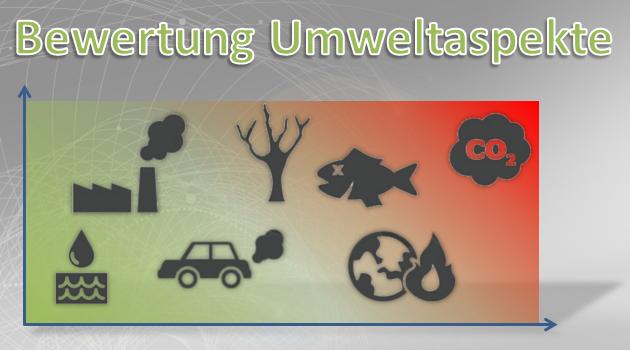 Bewertung Umweltaspekte Vorlage