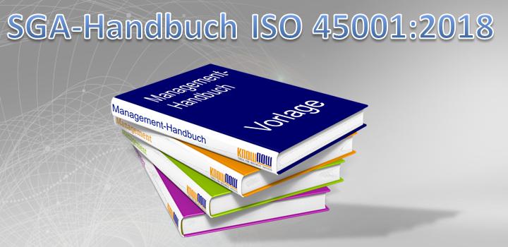 SGA-Handbuch ISO 45001:2018 Muster