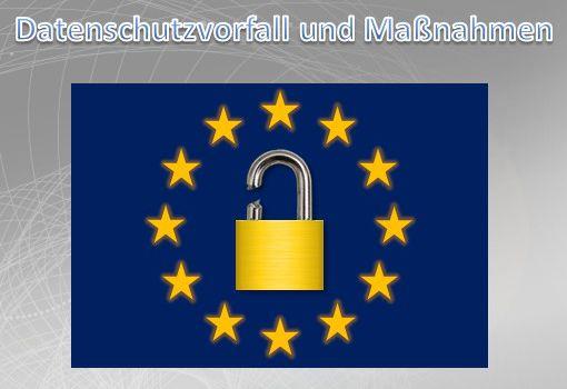 Datenschutzvorfall und Maßnahmen