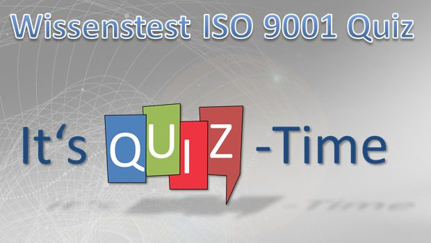 ISO 9001 Quiz Multiple-Choice