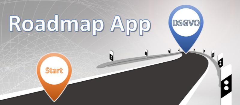 Roadmap App DSGVO
