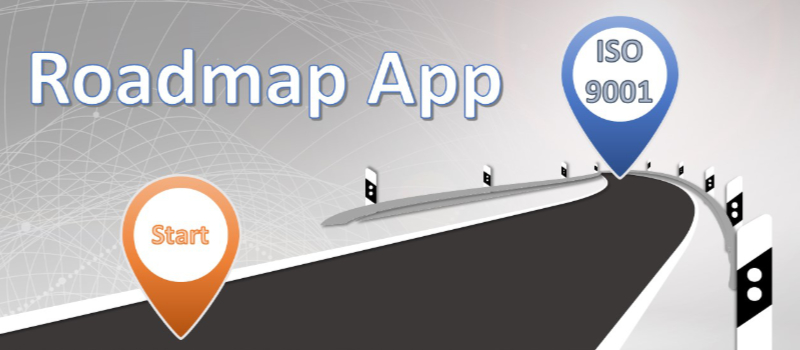 Roadmap App Einführung QMS ISO 9001
