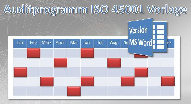 Auditprogramm SGA-System MS Word Vorlage