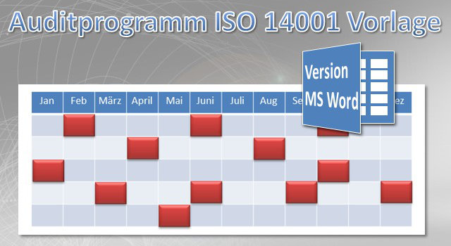 Auditprogramm UM-System MS Word Vorlage