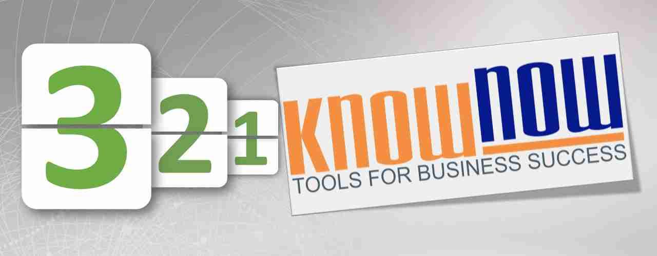 Countdown zur Know-NOW GmbH